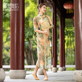 CHN21108旗袍(赠送肉色打底裤)