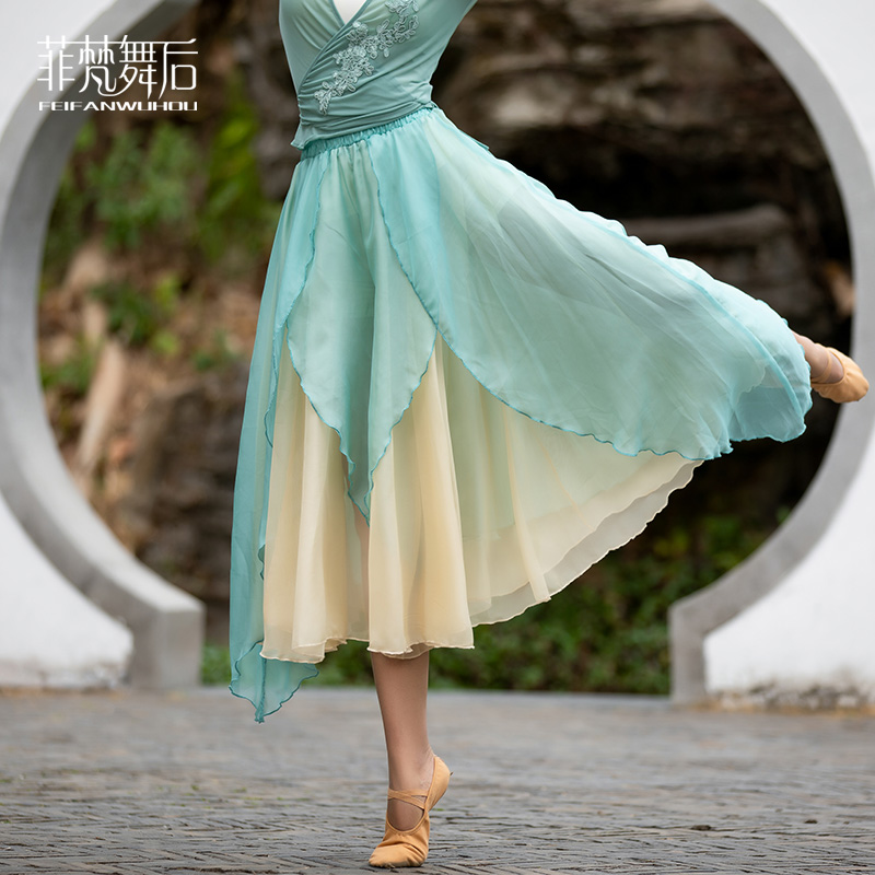 CHN21306天丝阔腿裤 / (搭配上衣:CHN20220)